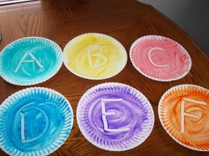 Fingerpainting ABCs